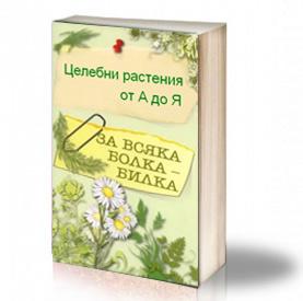 Book Cover: Целебни растения от А до Я