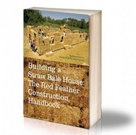 Book Cover: Building a straw bale house – Nathaniel Corum