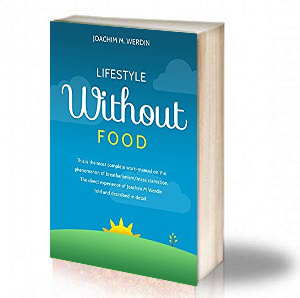 Book Cover: Lifestyle without food – Joachim M Werdin