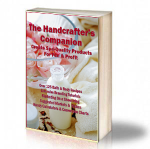 Book Cover: The Handcrafter's Companion – Create Spa-Quality Products For Fun